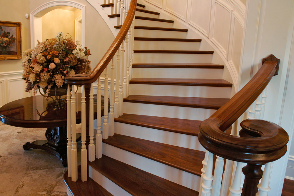 Curved Wooden Staircases North East